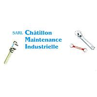 logo châtillon maintenance industrielle partenaire de cap hse formation conseil audit en santé sécurité environnement et transport de marchandises dangereuses